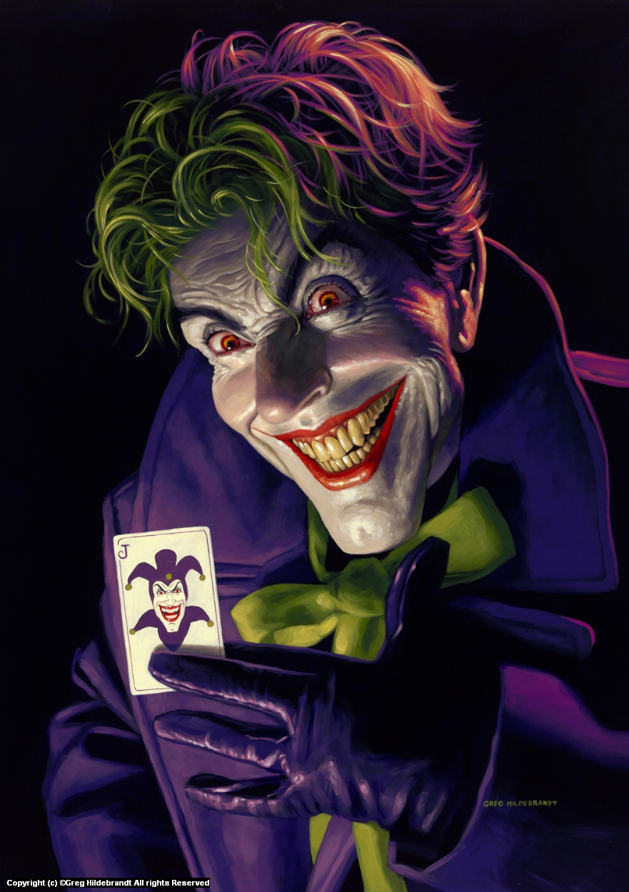 I'll Die Laughing Artwork by Greg Hildebrandt