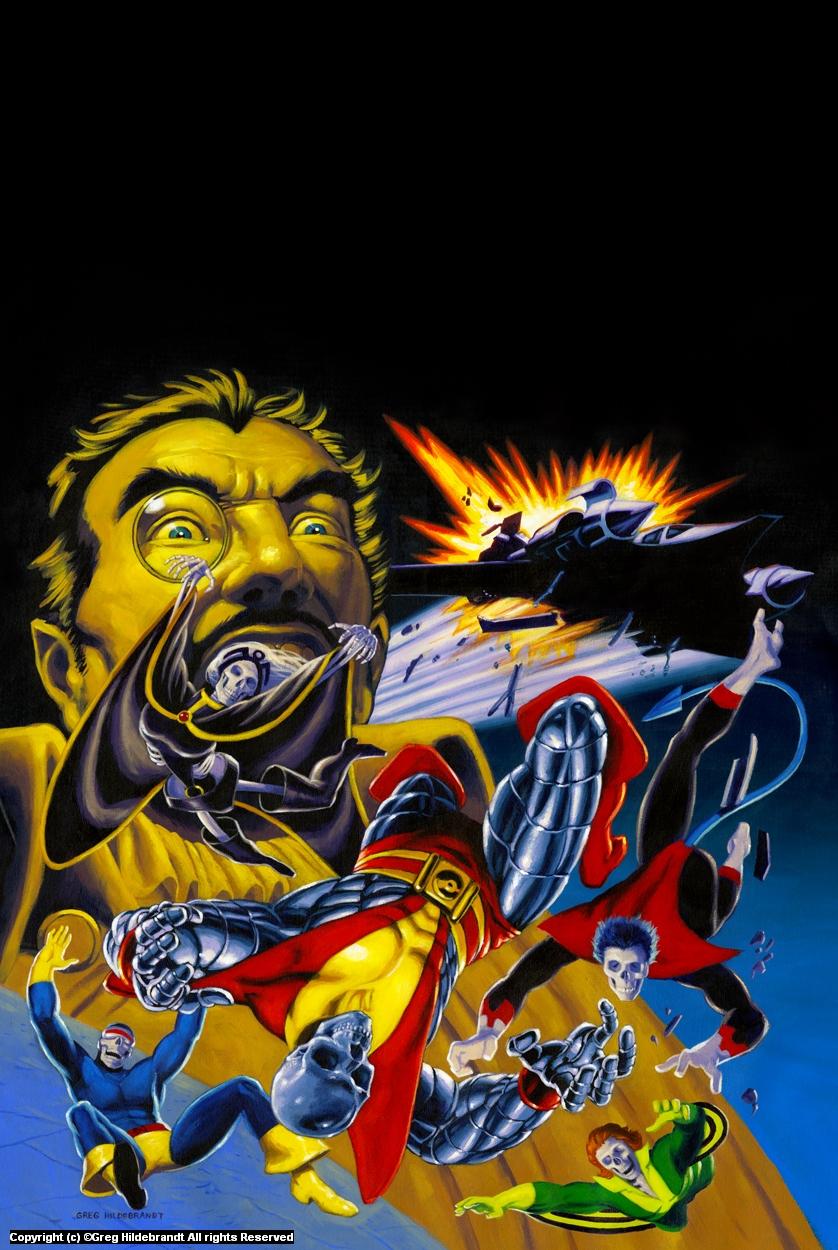 Death of X - Marvel Variant Cover Artwork by Greg Hildebrandt