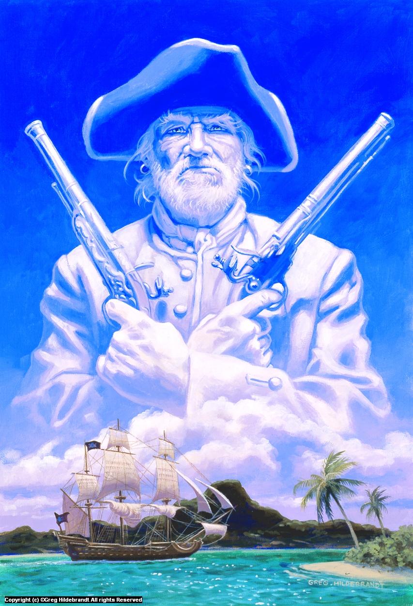 Treasure Island Cover #2 Artwork by Greg Hildebrandt