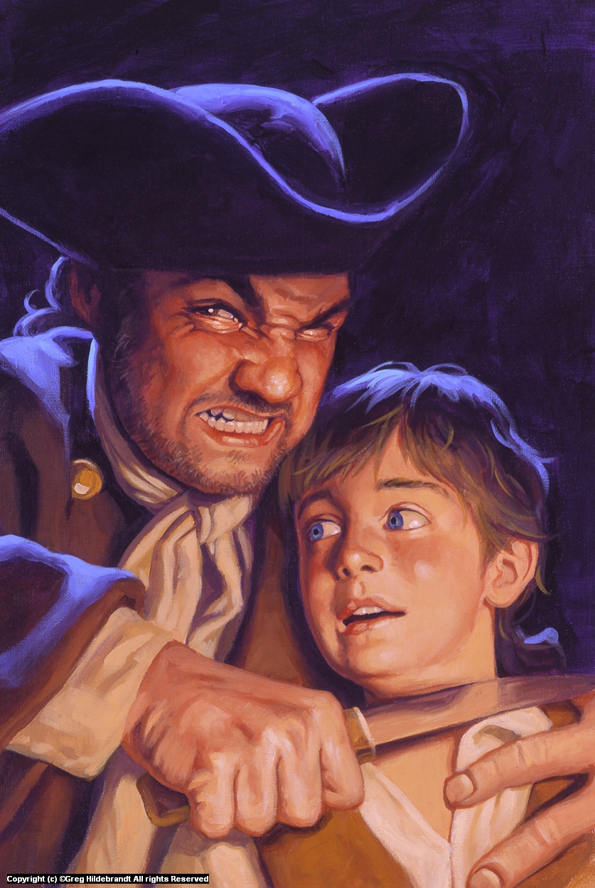 Treasure Island Cover #3 Artwork by Greg Hildebrandt