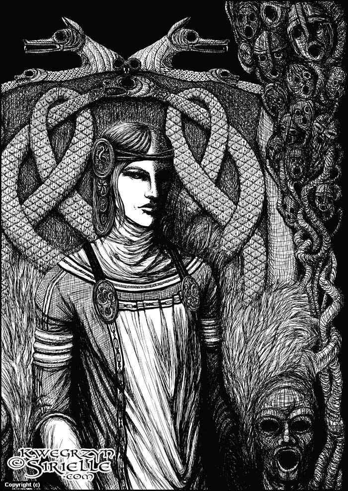 Hel Artwork by Karolina Wêgrzyn