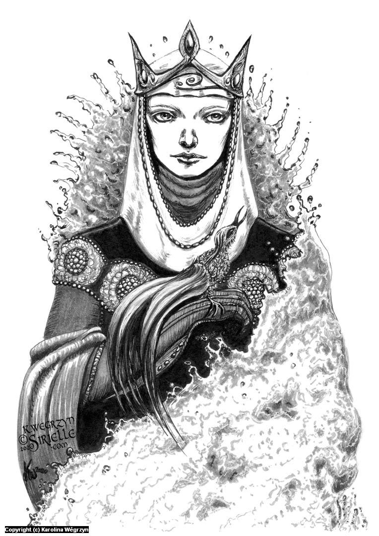 Tar-Míriel Artwork by Karolina Wêgrzyn