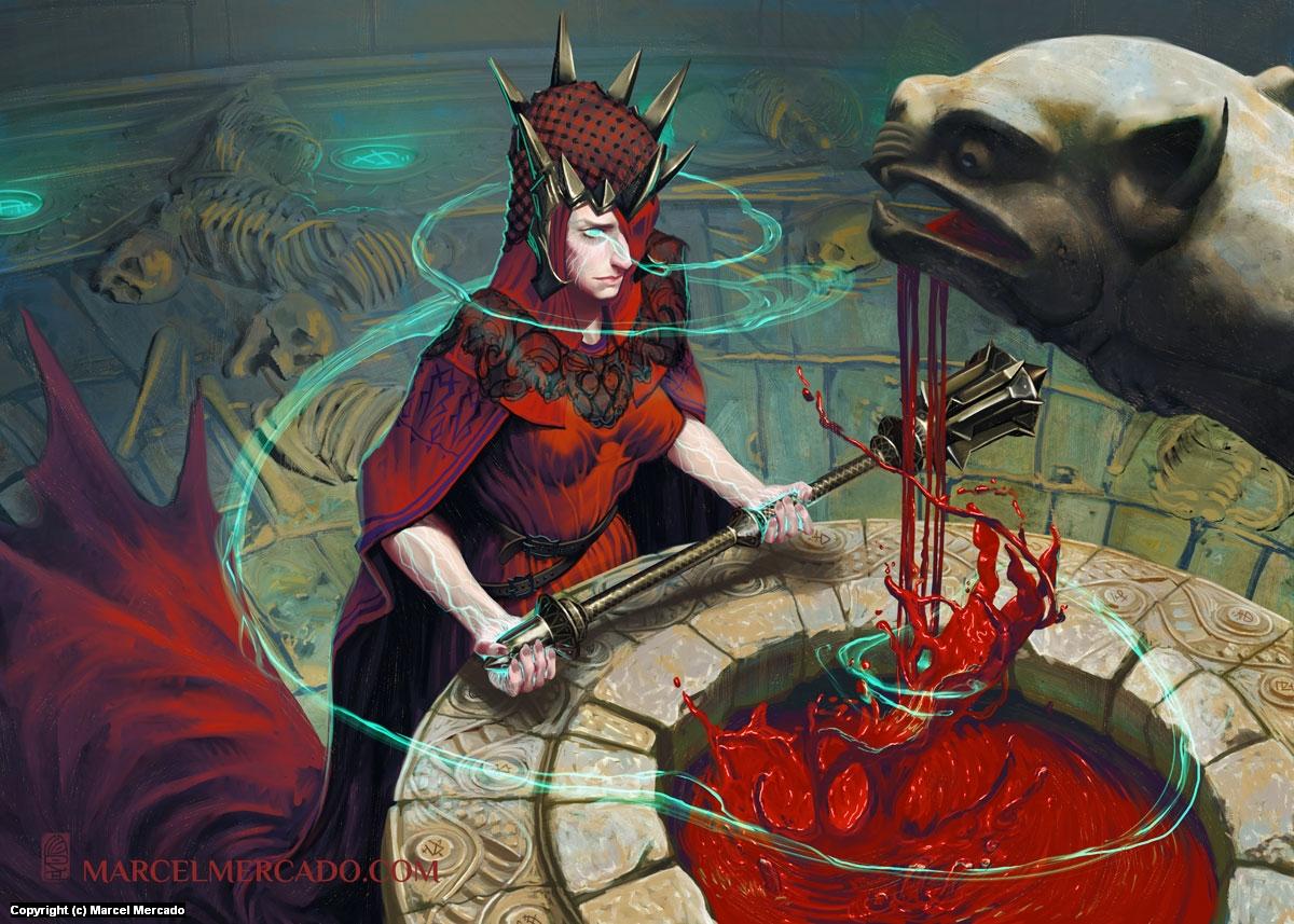 Blood Magic Artwork by Marcel Mercado