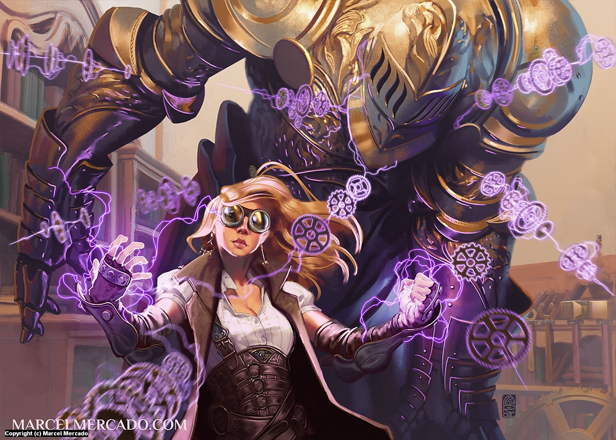 Clokcwork Magic Artwork by Marcel Mercado