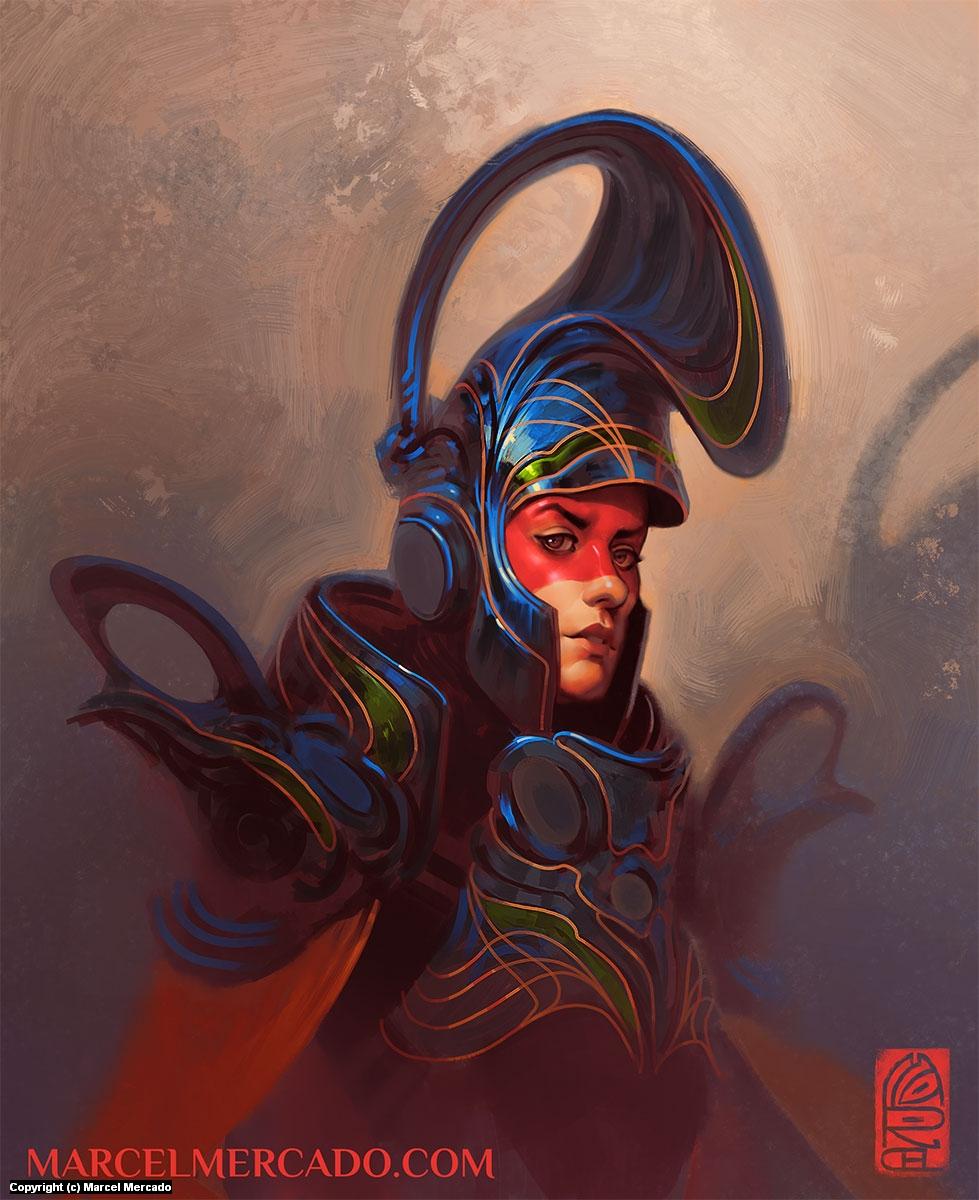 Guard Artwork by Marcel Mercado