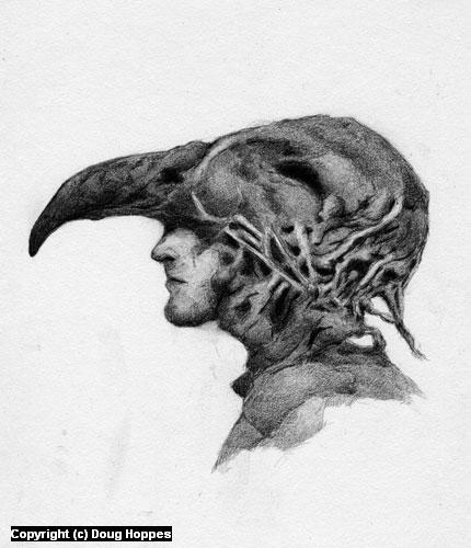 Neural Network Artwork by Doug Hoppes