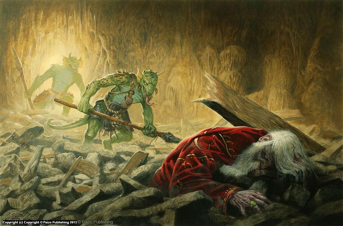 Hunclay's Fate Artwork by Milivoj Ceran