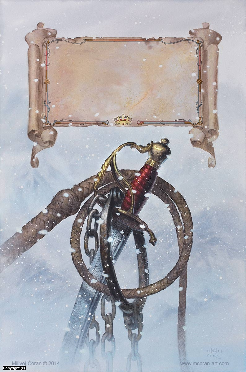 Half a King Artwork by Milivoj Ceran