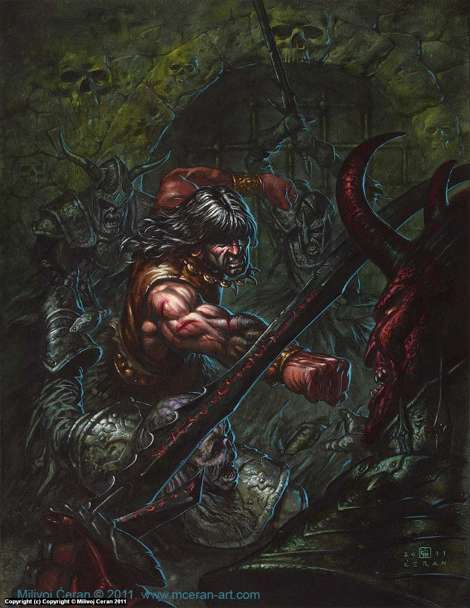 Conan Artwork by Milivoj Ceran