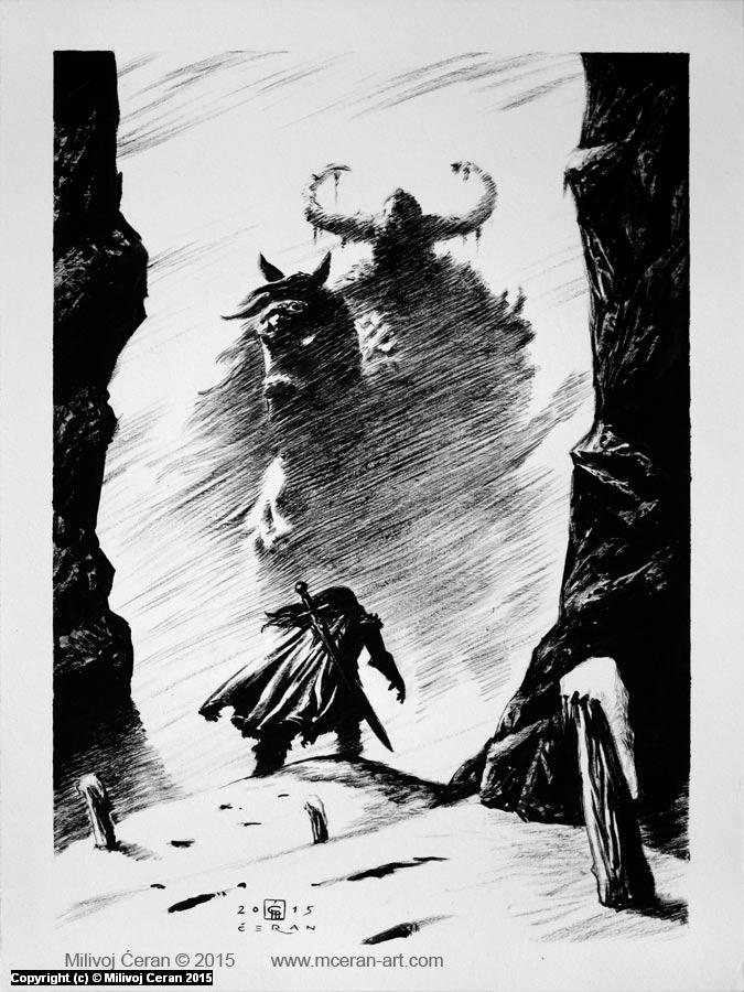 Jotunheim 01 Artwork by Milivoj Ceran