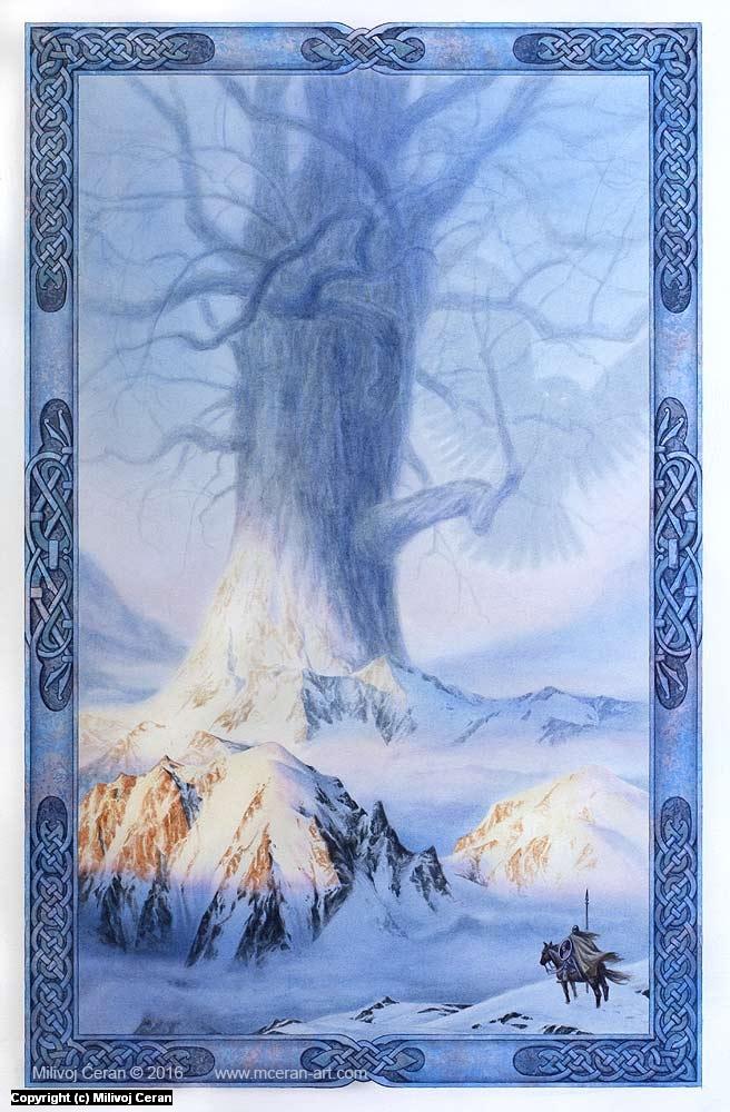 Yggdrasil Artwork by Milivoj Ceran