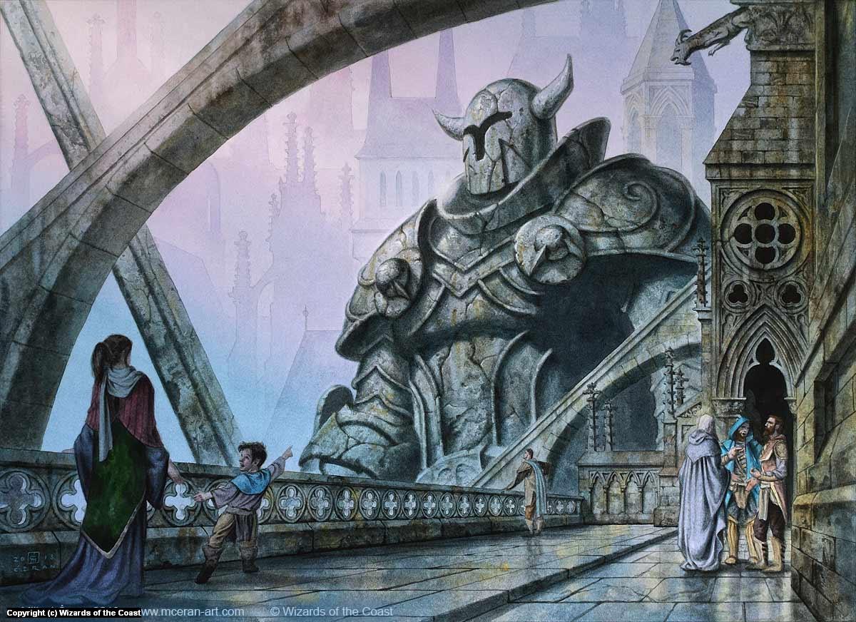 Gate Colossus Artwork by Milivoj Ceran