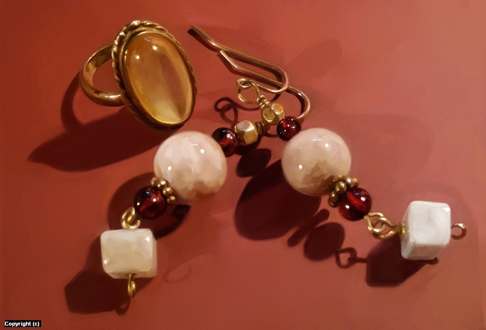 Jewelry Artwork by Romana Kendelic