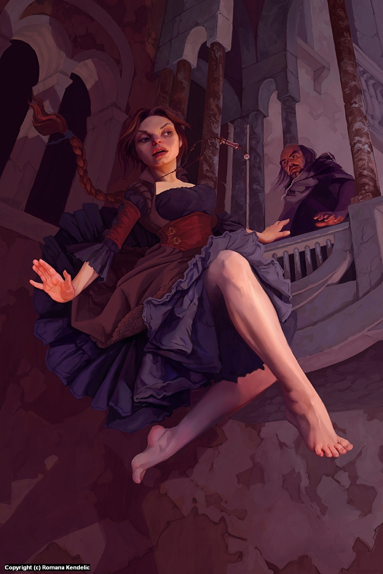 Thief Artwork by Romana Kendelic