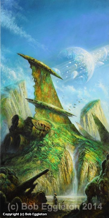 The Legacy Artwork by Bob Eggleton