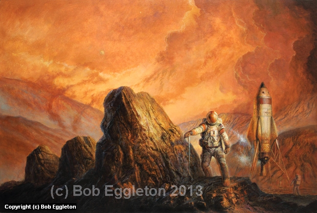 RESCUE MODE Artwork by Bob Eggleton