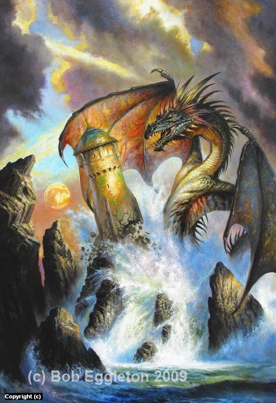 Dragon's Ring Artwork by Bob Eggleton