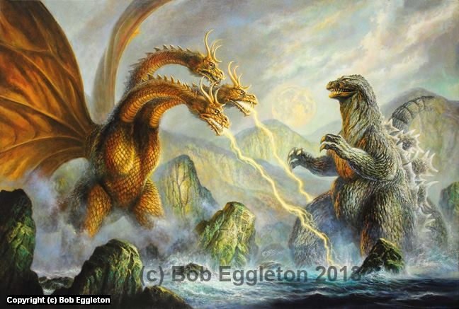 Clash of The Kings Artwork by Bob Eggleton