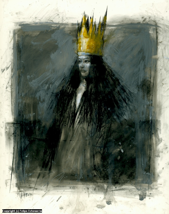 Crown of Gold Artwork by Felipe Echevarria