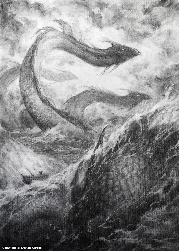 Leviathan Artwork by Kristina Carroll