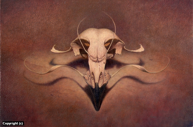 Falco Luciferus Artwork by Vince Natale