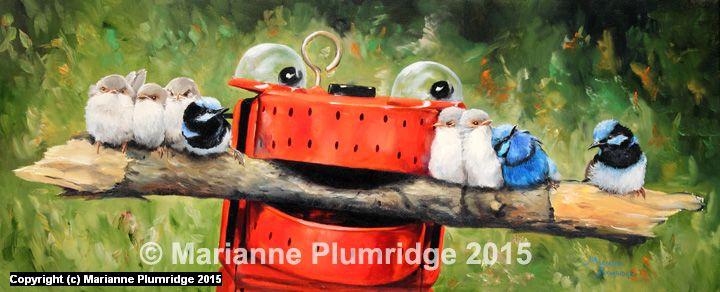 BRANCH LINE Artwork by Marianne Plumridge