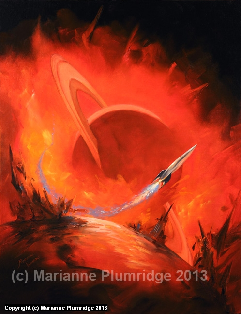 INFERNO Artwork by Marianne Plumridge