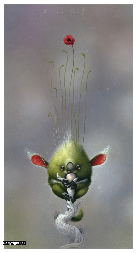 Hyla Canopea Artwork by Alice Dufeu