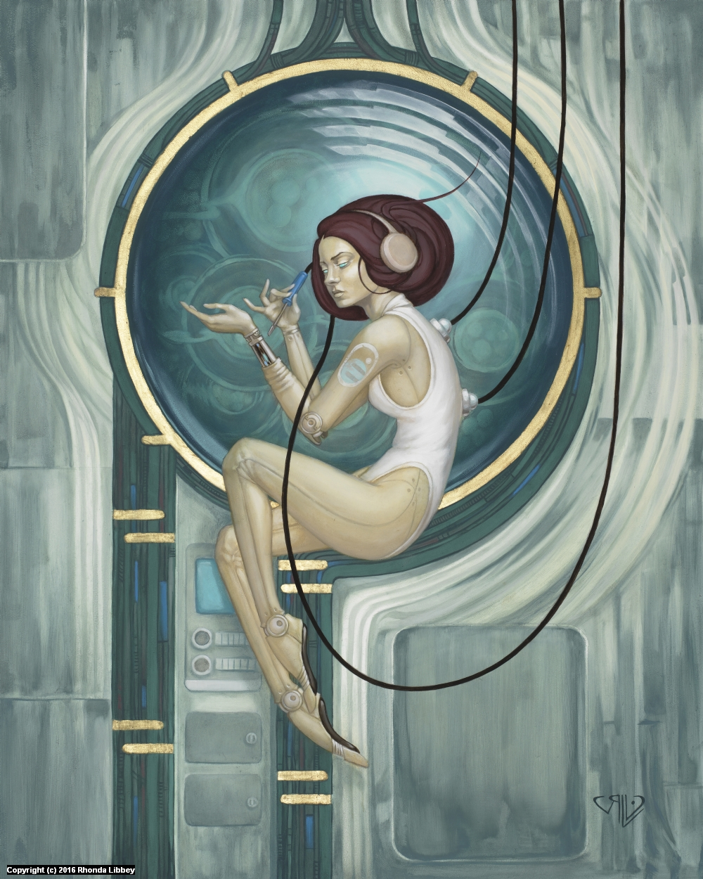 Solitude Artwork by Rhonda Libbey