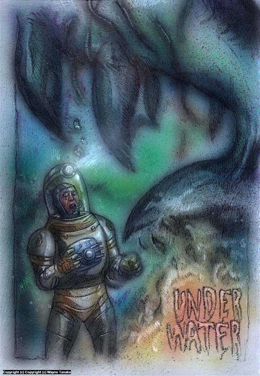 Under Water Artwork by Wayne Tanaka