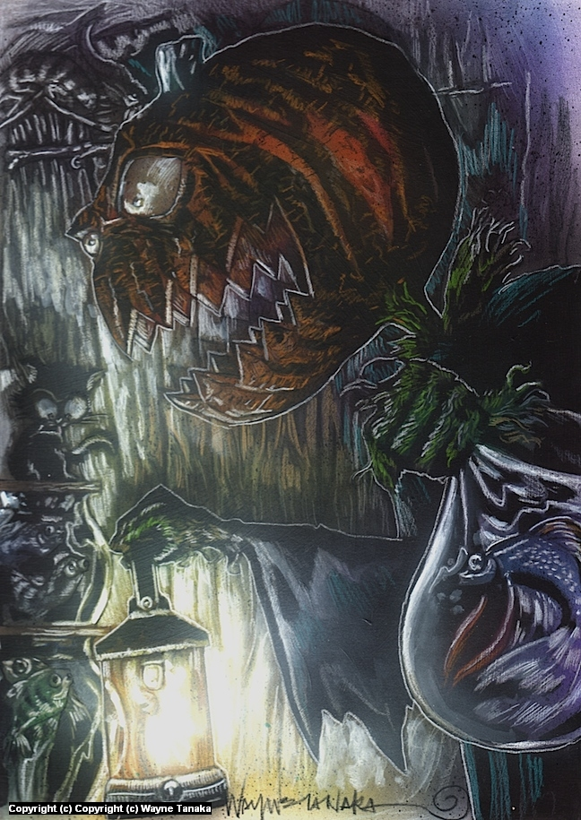 pump Artwork by Wayne Tanaka