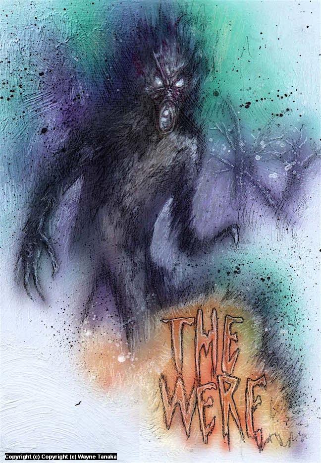 The were Artwork by Wayne Tanaka