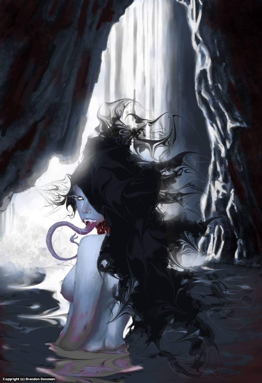 Undead's Fallen Daughter Artwork by Brandon Donovan