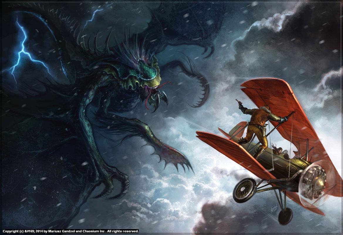 The Air Chase Artwork by Mariusz Gandzel