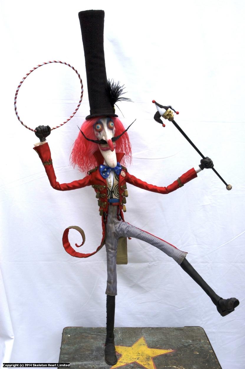 Monsieur Loyal the Ringmaster  Artwork by Skeleton Heart
