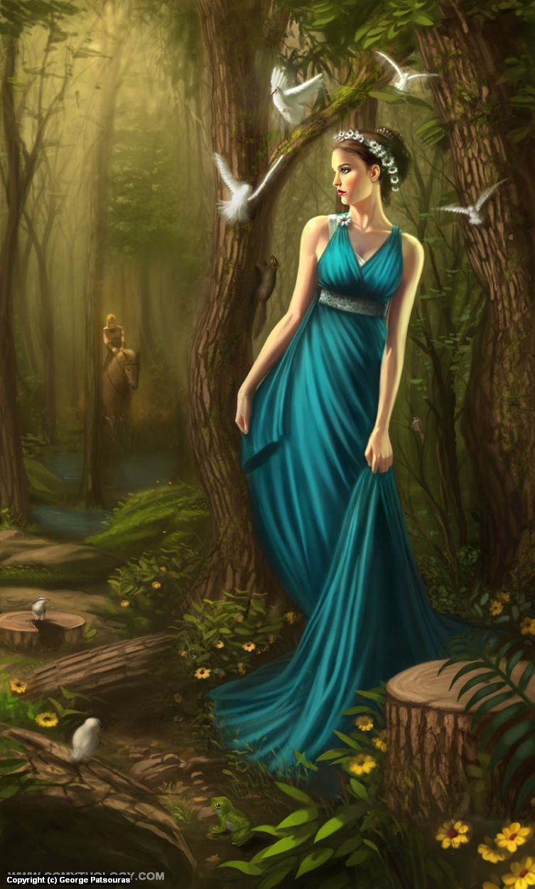Persephone Artwork by George Patsouras