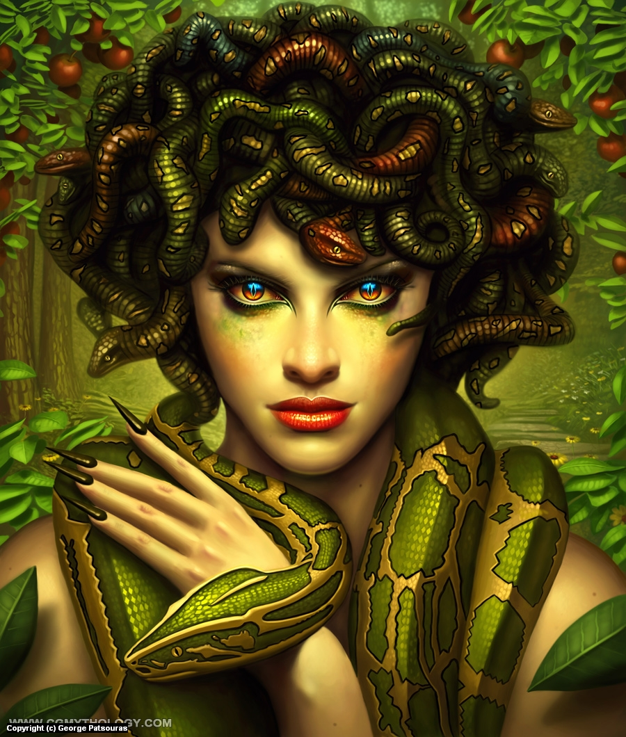 Medusa Artwork by George Patsouras