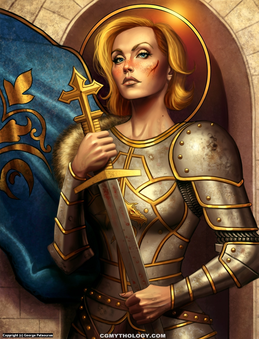 Joan of Arc Artwork by George Patsouras