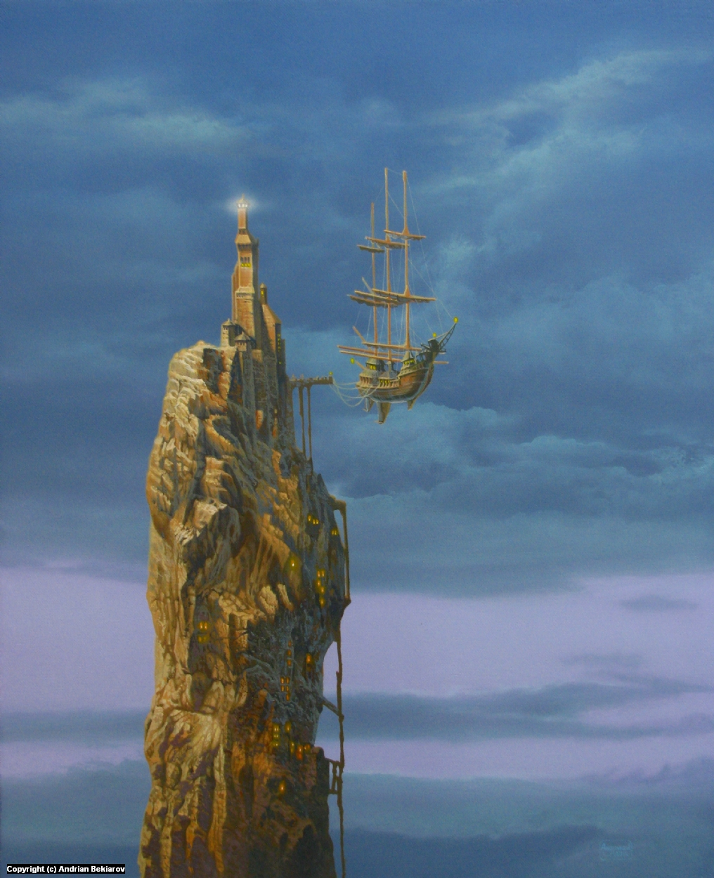 port Artwork by Andrian Bekiarov