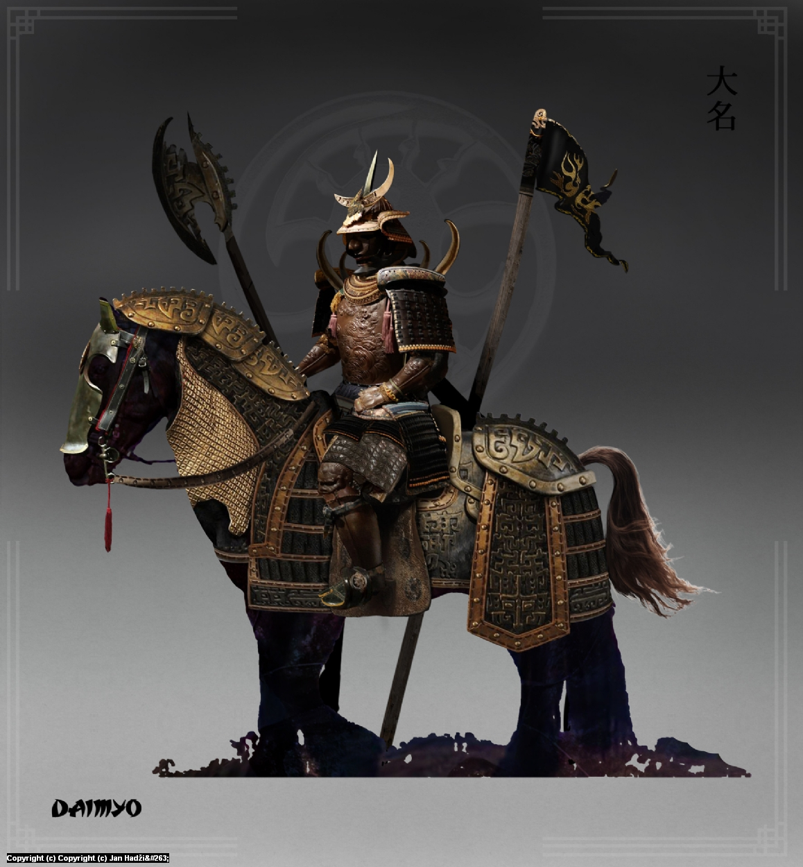 Daimyo Artwork by Jan  Hadzic