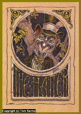 The Hatter Artwork by Tom Sarmo