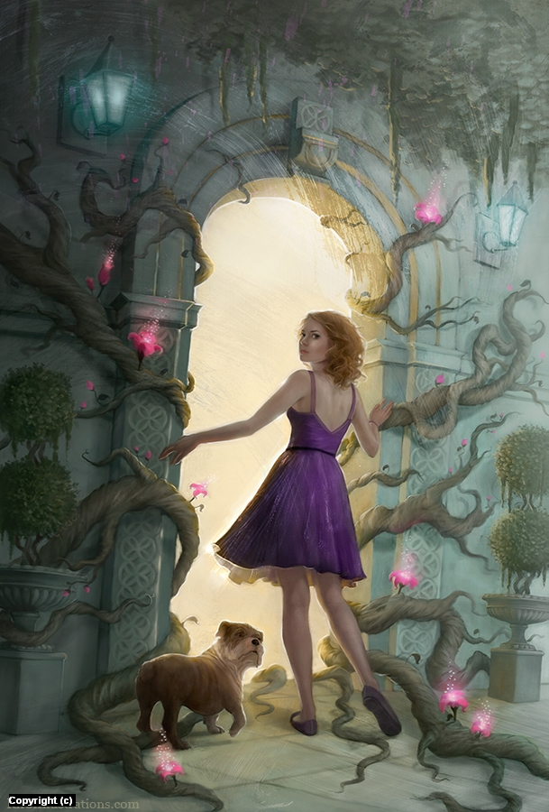 Fairy Tale Artwork by Kirbi Fagan
