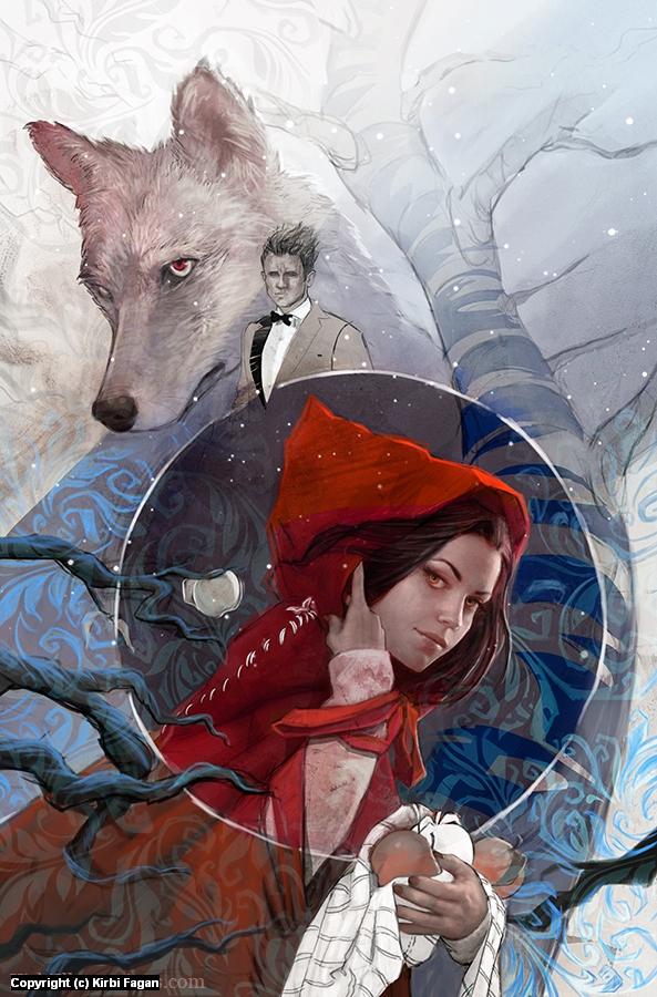 Red Artwork by Kirbi Fagan