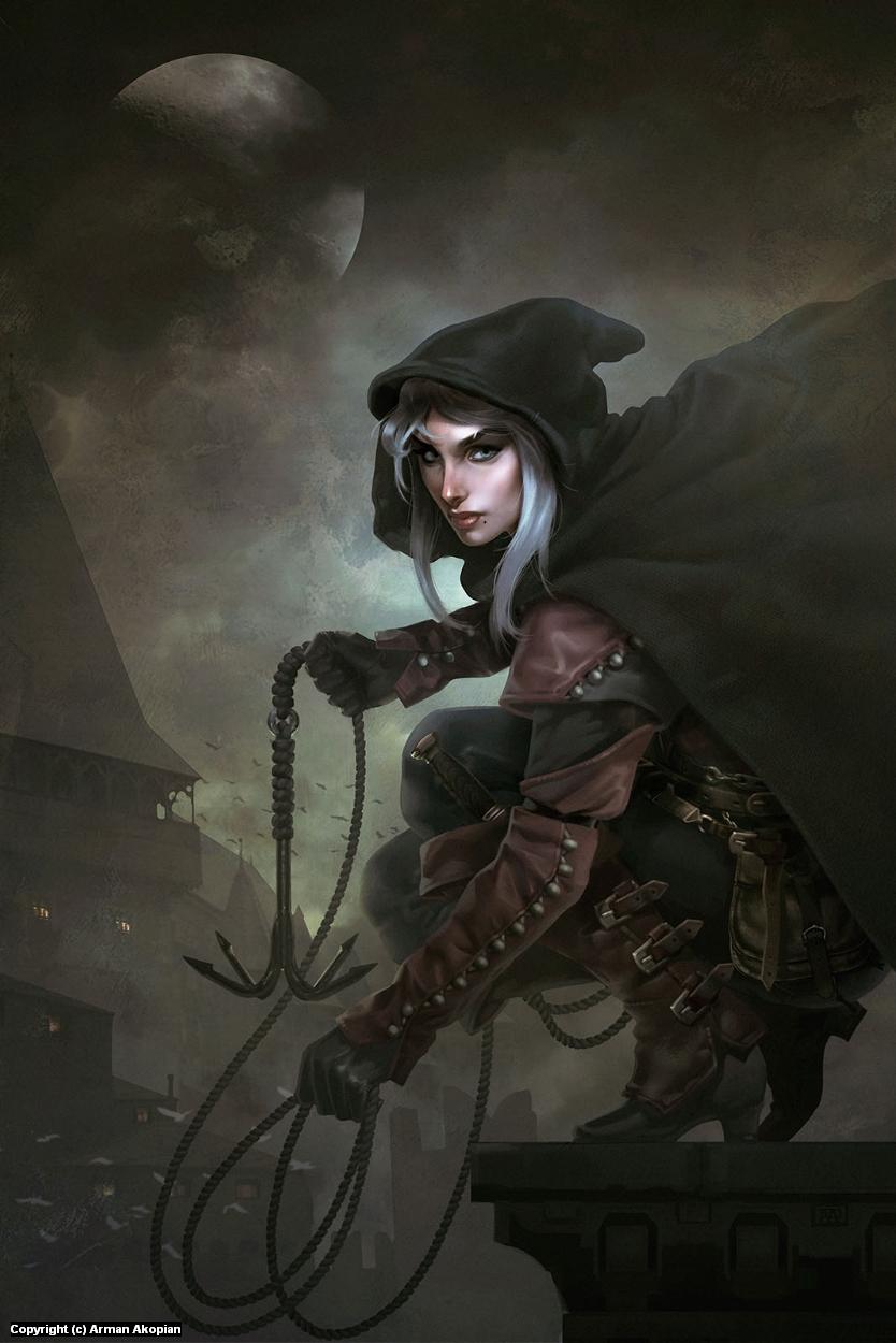 Blackguards Artwork by Arman Akopian