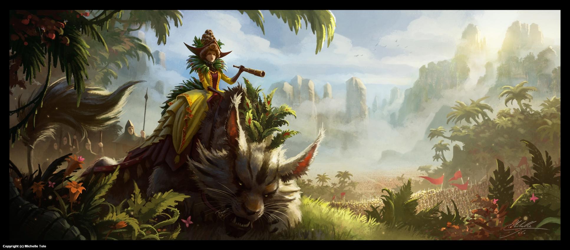 Queen Nilja's Revenge Artwork by Michelle Tolo