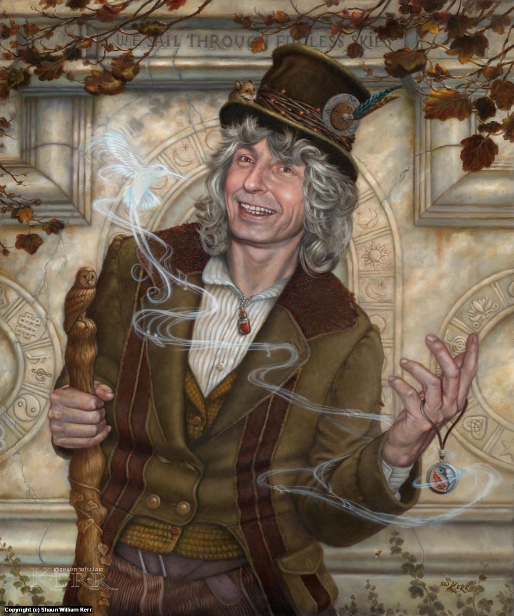 The Curiosities of Mr P Ozzy Scott Esq Artwork by Shaun W Kerr