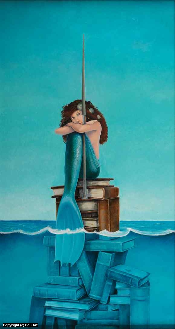 Mermaid Artwork by Poul Dohle