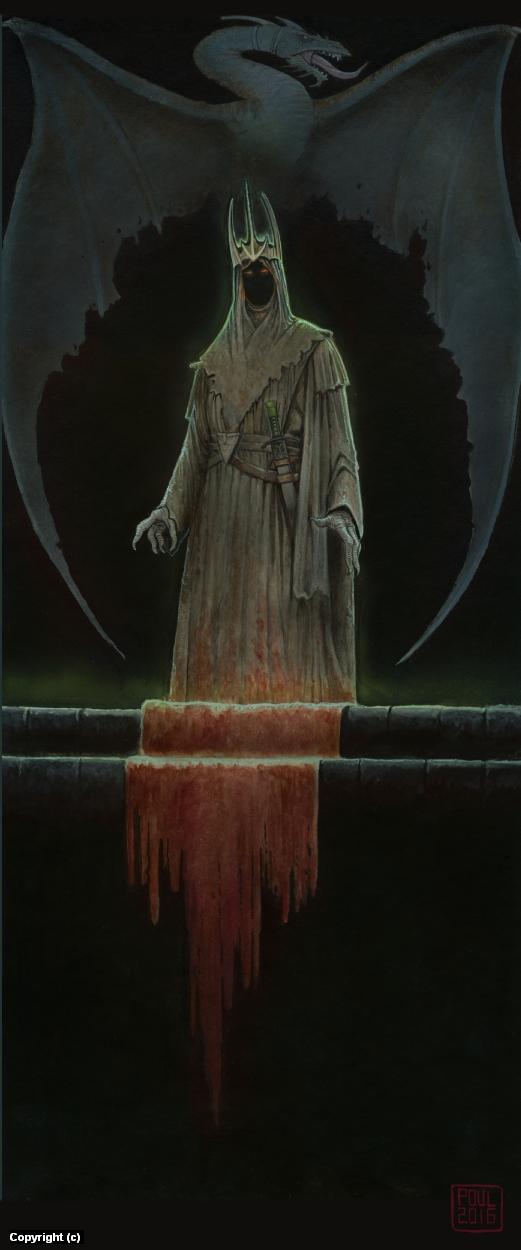 Nazgûl Artwork by Poul Dohle