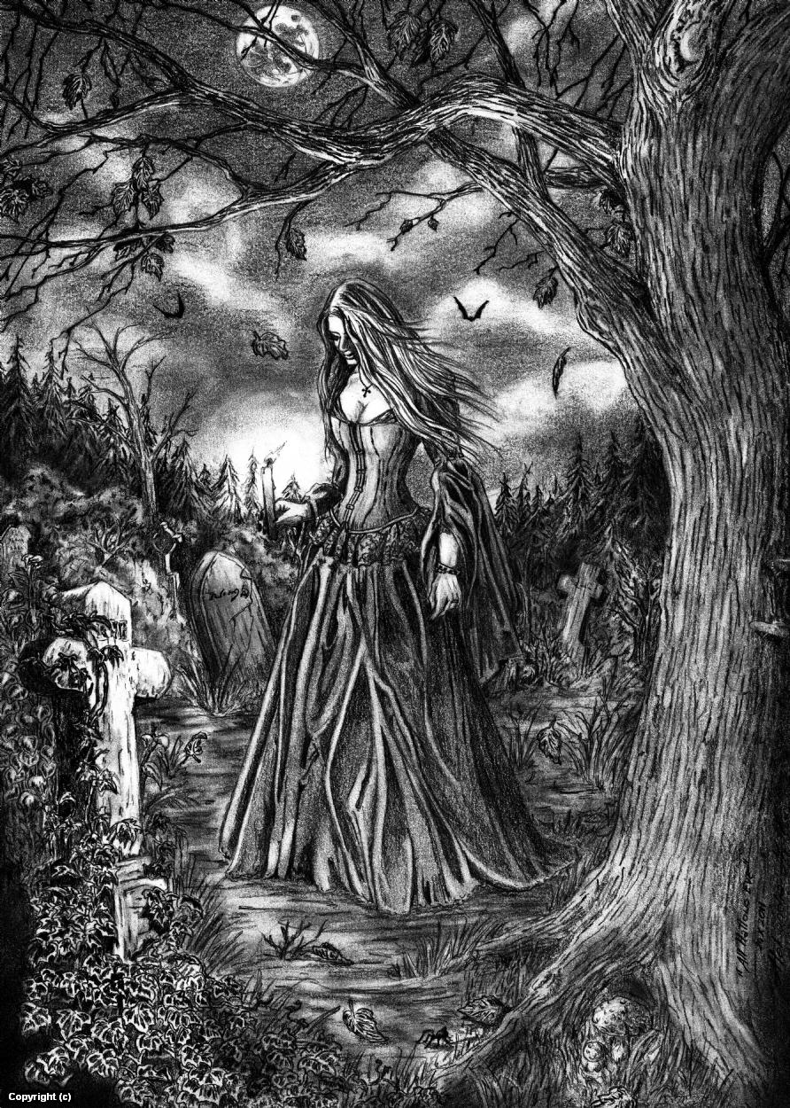 All Hallows Day Artwork by Aleksandra M. Kisiel
