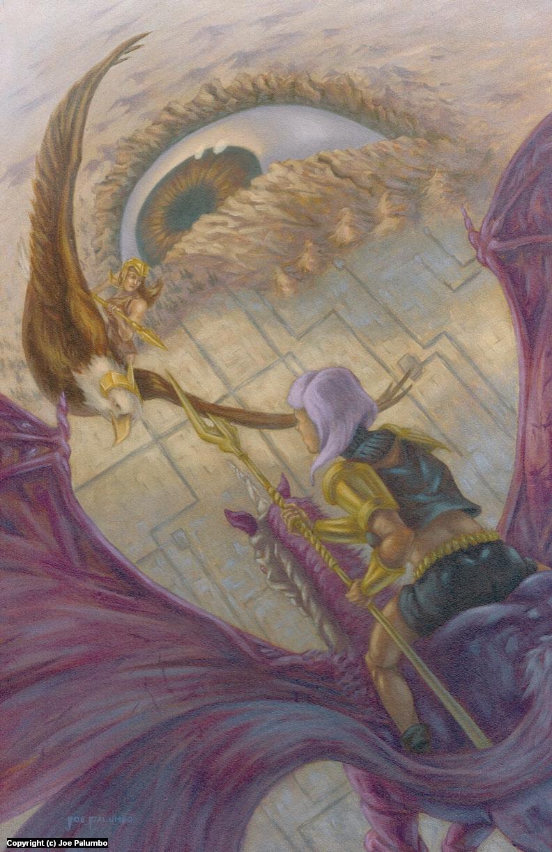 The Battle Over Aiden Artwork by Joe Palumbo